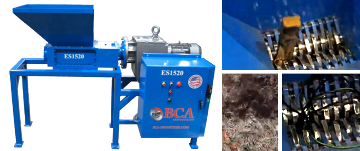 BCA Industries Industrial Shredders